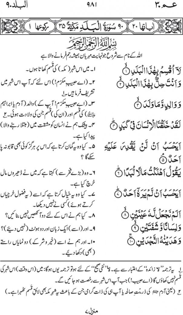 90-Surah Al Balad 01