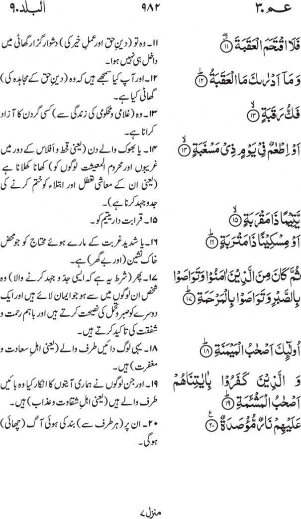 90-Surah Al Balad 02