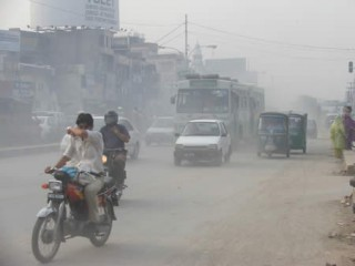 Lahore Road Pollution