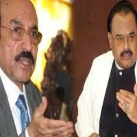 Altaf Hussain and Qaim Ali Shah