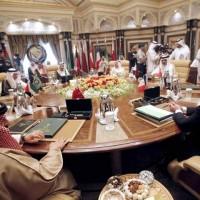 Arab Gulf Leaders Meating