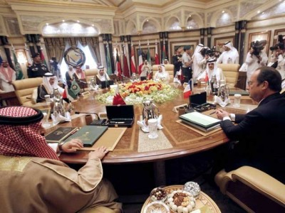 Arab Gulf Leaders Meating