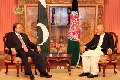 Asif Zardari and Ashraf Ghani