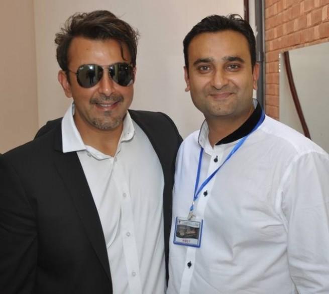 Badar Khan and Shaan