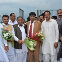 Chaudhry Bashir Bosal with Friends