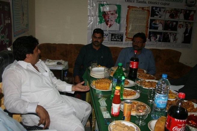Chaudhry Munir Ahmad Honor Party