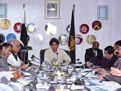 Chaudhry Nisar Chaired Meating