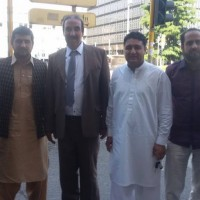 Choudhary Ajmal Khan with Friends