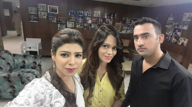 Eshal Syed With Friends