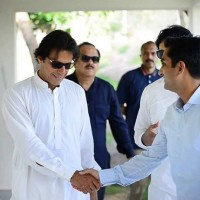 Fahad Cheema With Imran Khan