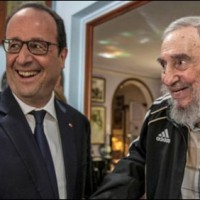 Francois and Raul Castro