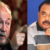 George Galloway and Altaf Hussain