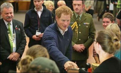 Harry In Newzeeland