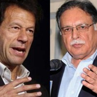 Imran Khan and Pervez Rashid