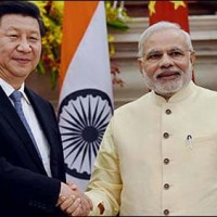 Indian Prime Minister And Chinese President Met