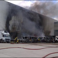 Industrial Estate Warehouse Fire
