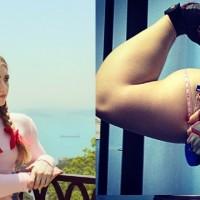 Julia Vins, Russian muscled barbie (5)