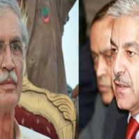 Khwaja Asif And Pervez Khattak Meating