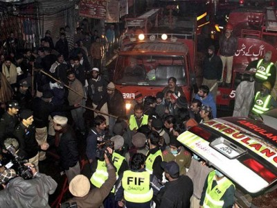 Lahore Fire