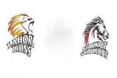 Lahore Lions and Sialkot Stallions