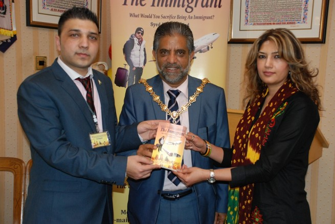 Lord Mayor of Stoke on Trent Immigrant Best Seller Function