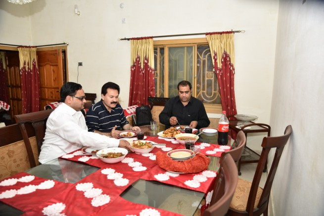 Mian Irfan Saddique Honor Party
