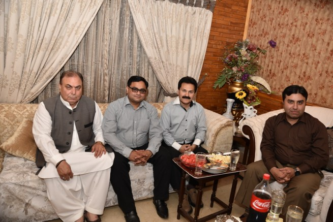 Mian Irfan Siddiq Honor Party