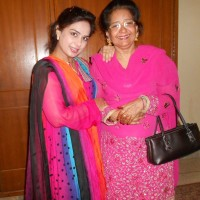 Miss Lubna Qadir And His Mother