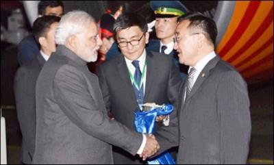 Mongolia Prime Minister And Narendra Modi