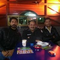 Nabi Bakhash Butt with Friends