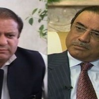 Nawaz Sharif And Zardari Meeting