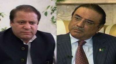 Nawaz Sharif And Zardari Meeting