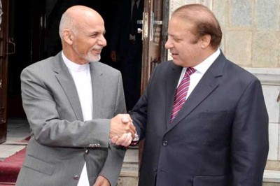 Nawaz Sharif and Ashraf Ghani