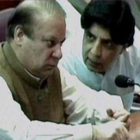 Nawaz Sharif and Chaudhry Nisar