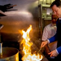 Nick Clegg Cooking