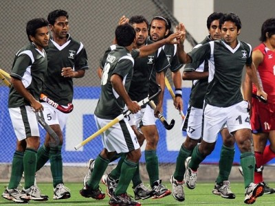 Pakistan Hockey Players