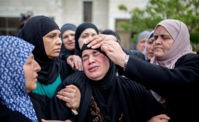 Palestinian Women Violence