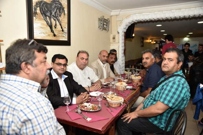 Paris Mian Irfan Saddique Honors Dinner