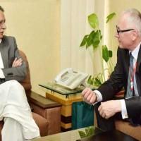 Pervaiz Rasheed Meeting