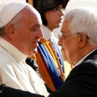Pope Francis And Mahmoud Abbas