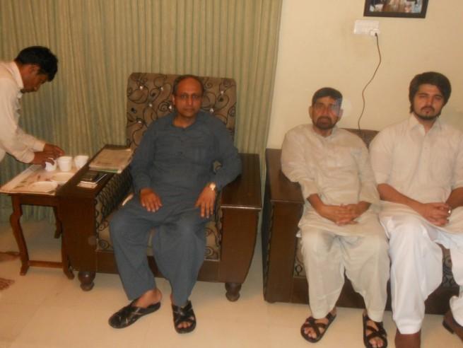 Saeed Ghani Condolences