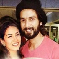 Shahid Kapoor And Meera Rajput