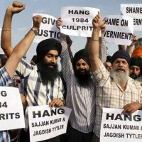 Sikhs Protested