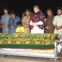Solat Mirza Funeral