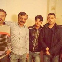 Syed Aamir Shah With Friends