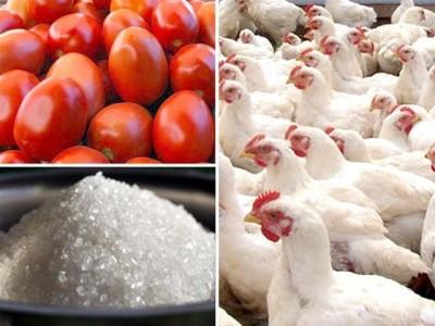 Tomato, Chicken, Sugar