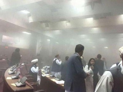 Afghan Parliment Attack