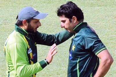 Afridi And  Misbah