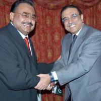 Altaf and Zardari