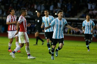 Argentina And Paraguay Match
